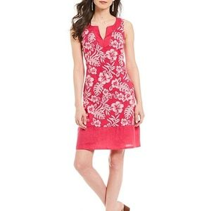 Tommy Bahama 》 Hot Pink Hawaiian Dress